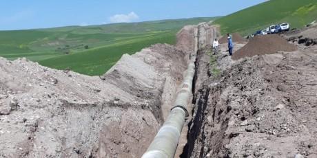 Поставки на ирригационный проект на Курусайской плотине в Диярбакыре