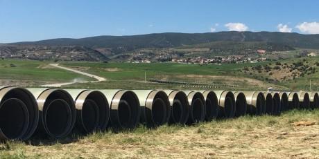 Kahramanmaraş Sireşanlı Проект по ирригации с использованием насосов 1-ая фаза Отгрузка материала завершена.