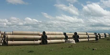 Закупка труб для ирригационного проекта Карс Арпачай Кочкёйский пруд