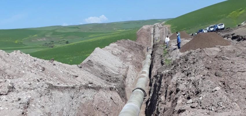 Shipments to Kuruçay Dam Irrigation Project in Diyarbakır