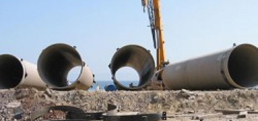 Труби сталевої електростанції охолоджували трубопроводи охолодження.