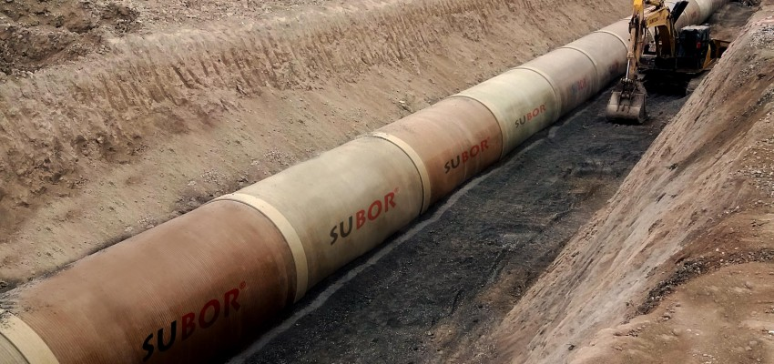 With SUBOR's Experience in Large Diameter Pipe Production, Konya Industrial Zone Phase 5 Storm Water Project Has Been Completed