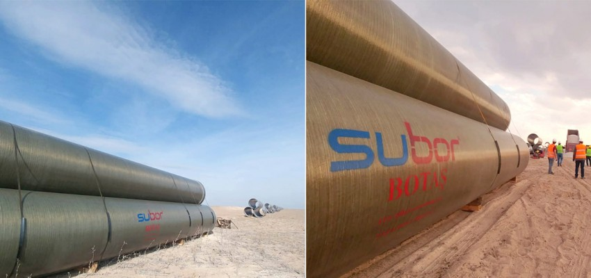 Deliveries of Botas Salt Lake Underground Storage Facility Project Has Been Started in Early December
