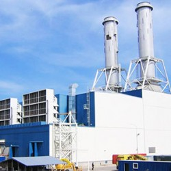 ÜNİMAR Enerji Santrali Su Alma Yapısı